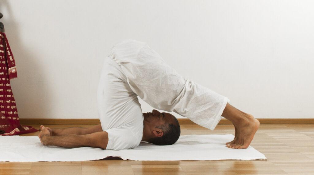 Posture inverse yoga - asana yoga online