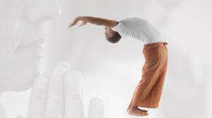 Ardha Urdhva Dhanur - asana yoga online
